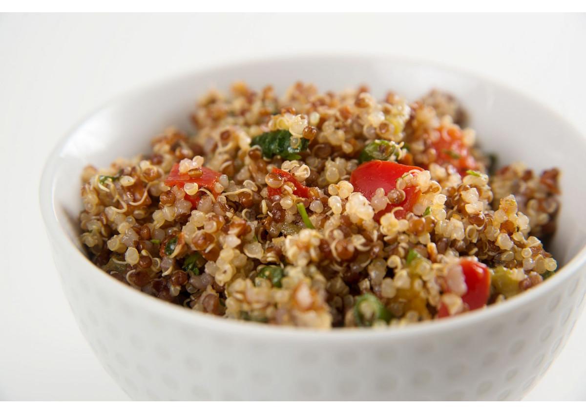 Salade de duo de quinoa