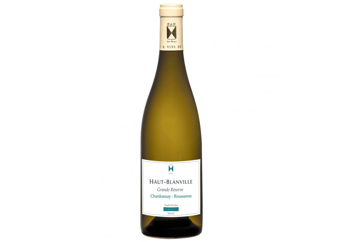 Vin Blanc Chardonnay Roussanne - Château Haut Blanville 2018 - Grande Réserve 75 cl