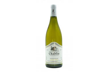 Vin Blanc Bourgogne Domaine Sylvain Mosnier AOC Chablis 2017- 75 cl