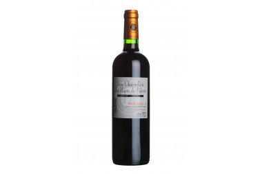 Vin Rouge Bordeaux Les Charmilles Des Hauts De Palette AOC 2016 - 75 cl