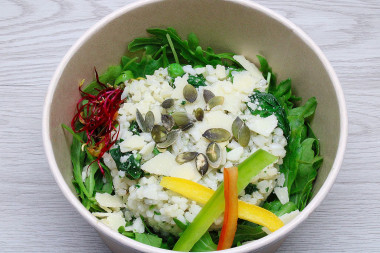 Bowl risotto verde