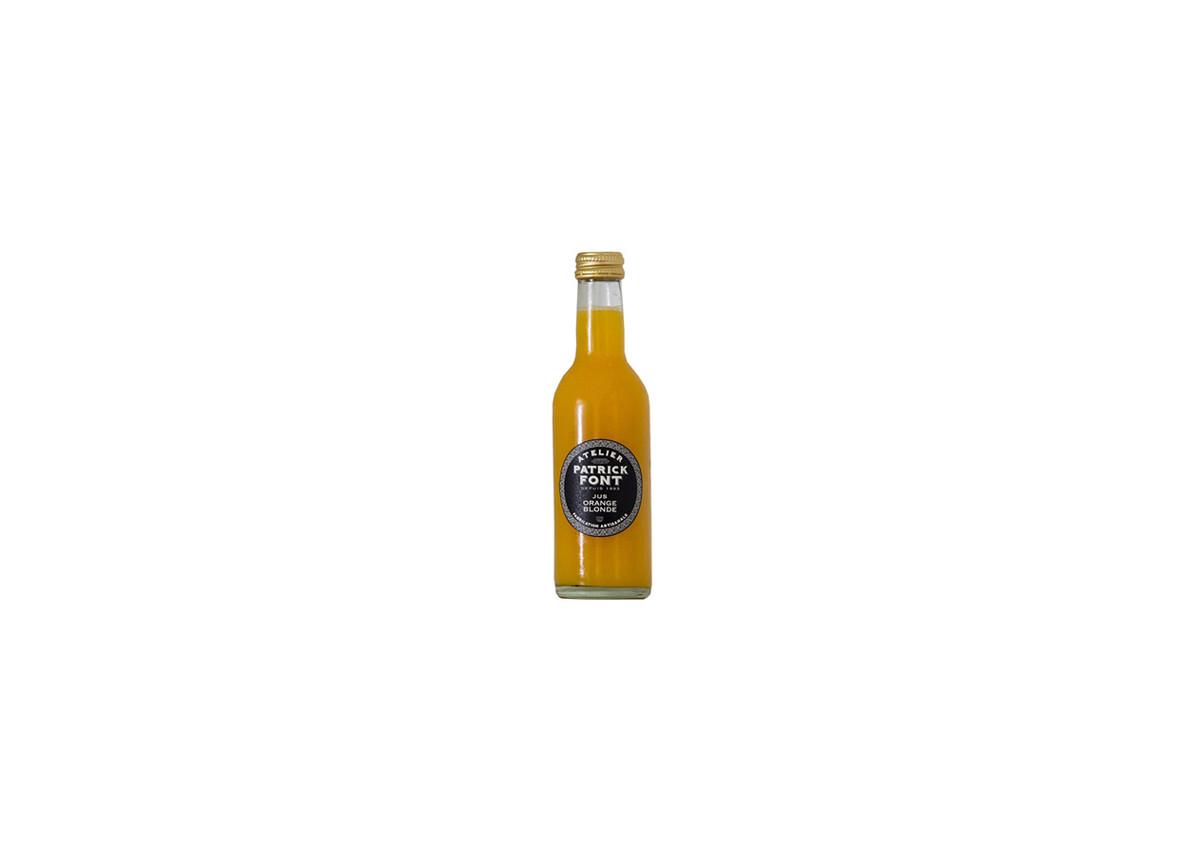 Jus d'Orange Blonde de Sicile Patrick Font 1 l - Jus Artisanaux